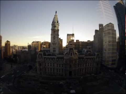 2012-10-16 – City Hall – Philadelphia, PA – Time-Lapse – Morning – Letterbox – 15fps