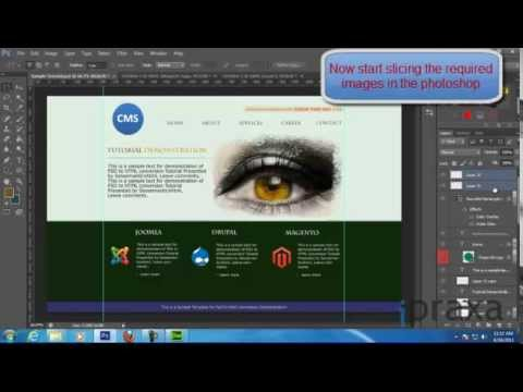 Complete PSD to HTML5 Conversion Tutorial