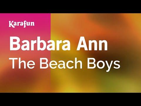 Karaoke Barbara Ann - The Beach Boys *