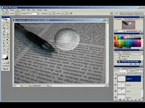 Photoshop Clear Glass Sphere