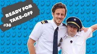 Sjoerd in de wolken: piloot Sjoerd bestuurt het vliegtuig HELEMAAL ZELF!  Blij met Sjoerd