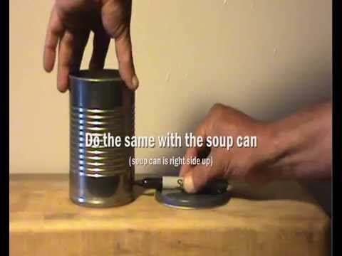 Paint Can Wood Gasifier : How To Build a Mountain Ranger Wood Gas Camp Stove - YouTube
