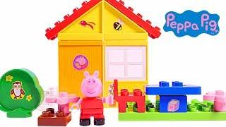 Mejores Videos Para Niños - Peppa Pig Garden House Construction Set Fun Videos For Kids