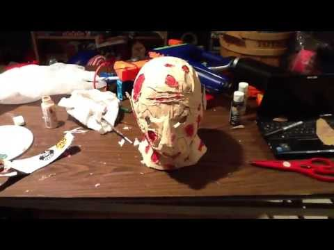 How To Make A Freddy Krueger Mask For ONLY $10