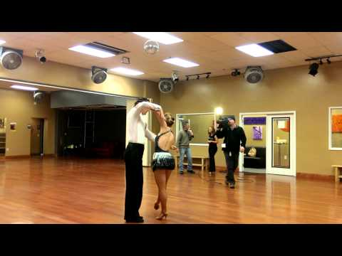 Ballroom Rumba performance at DF Dance Studio on Fox 13