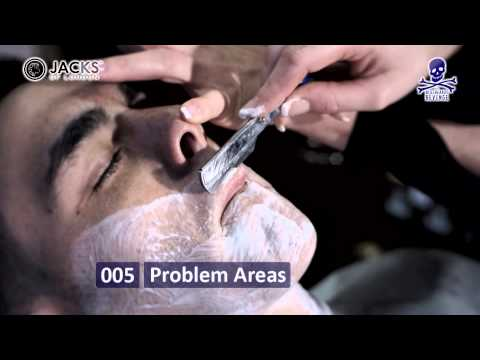 How to shave with a cut throat/open/straight razor - Cut throat razor shaving tips