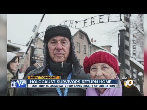 Local Holocaust survivors return home