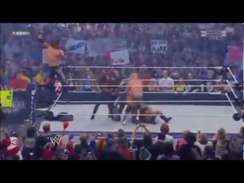 Wwe Wrestlemania 27 Snooki, Trish Stratus, And John Morrison Vs Laycool And Dolph Ziggler Highlights video