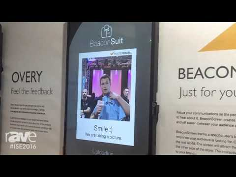 ISE 2016: PosterDigital Showcases the BeaconScreen