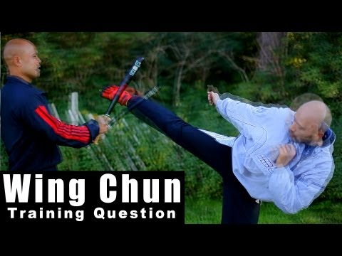 wing chun techniques - how to deal suprise attack with a bat Q46 Image 1