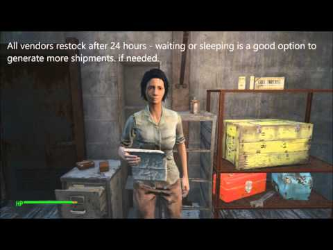 Fallout 4 How to Find Shipments of Steel Guide | Complete Material Guide
