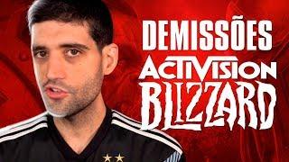 BOMBA, muito triste, quase 1000 DEMISSÕES da Activision Blizzard, alguma coisa tem que mudar