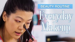 Beauty Expert's Entire Everyday Makeup Routine In Real Time | Allure