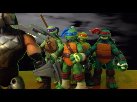 TMNT 2013 Stop Motion (Short) MOVIE