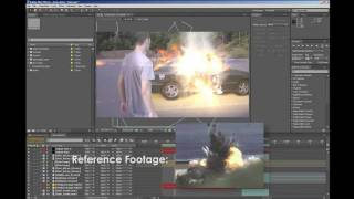 Creating a Car Explosion in After Effects through Compositing (