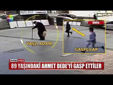 89 yaşındaki Ahmet Dede'yi gasp ettiler