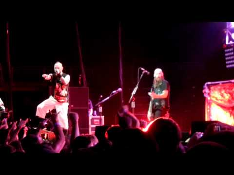 5 Finger Death Punch- Under and Over It- Trespass America- Prudential Center- 8/18/12