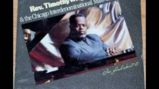 """I'm Glad About It"" Rev. Timothy Wright & The Chicago Interdenominational Mass Choir"