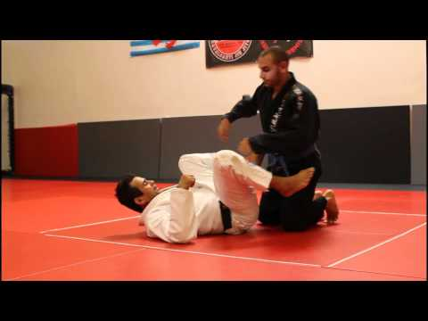 Jiu Jitsu Techniques - 3 Techniques from Open Guard / Foot on Hip Image 1
