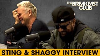 Download Lagu Sting & Shaggy Come Together For Reggae Music, Talk Lifestyle Changes, Old Hits + More Gratis STAFABAND