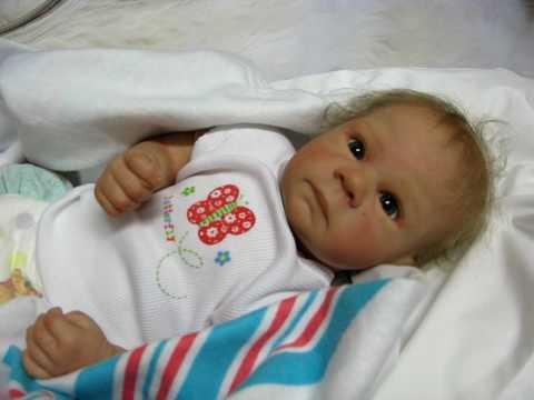 Breathing Reborn baby girl Amelia