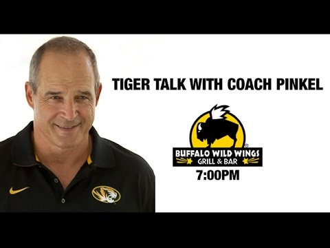 Mizzou Tiger Talk with Gary Pinkel Marcus Murphy and Harold Brantley