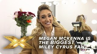 Megan McKenna is the BIGGEST Miley Cyrus fan | X Factor: Celebrity