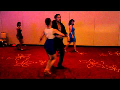 Adrian & Kathleen - Orlando Salsa Congress 2012 (Sat - Social Dancing)