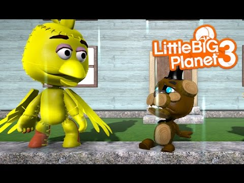 LittleBIGPlanet 3 - Five Nights at Freddy's 1, 2, 3 and 4 in a Nutshell [Playstation 4]