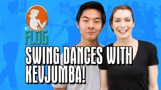 Felicia Day Swing Dances with KevJumba! - The Flog - Ep 9