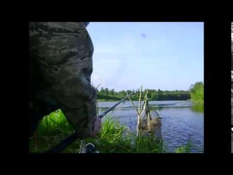 рыбалка на озере ухта