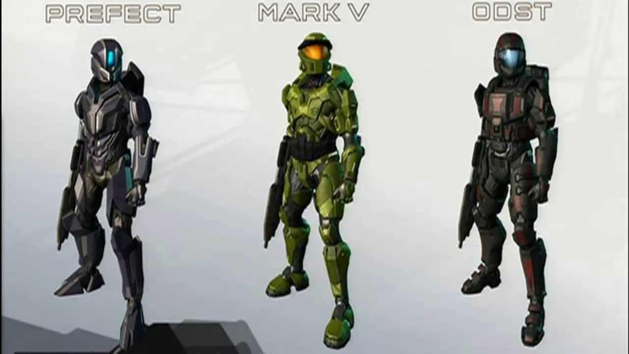 halo 4 mark v armor