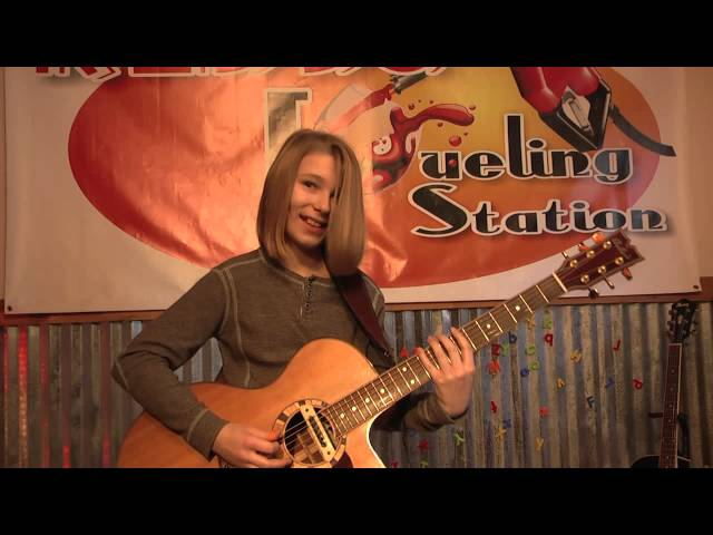Amazing 11 Year Old Guitarist Carson Mac