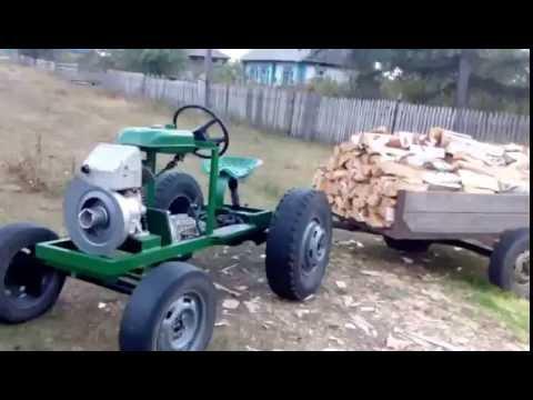 Мини трактор 2016 года выпуска.