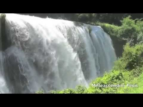 Relaxing Waterfall - 10 Hours . Peace Serenity Calm Nature Relaxation video