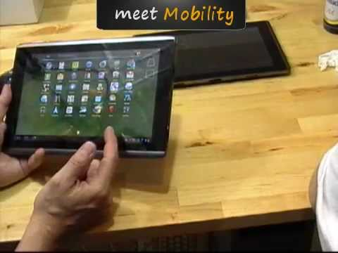 Tablet Wars II ASUS Eee Pad Transformer vs Acer Iconia Tab A500