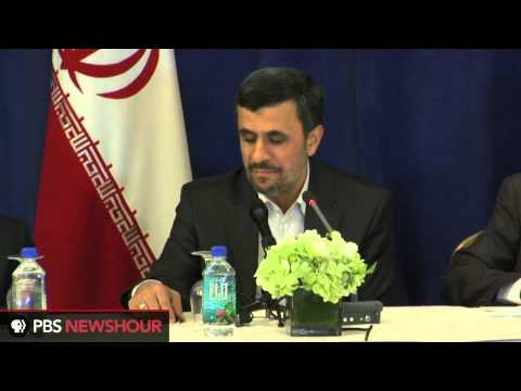 Iranian President Mahmoud Ahmadinejad Speaks on Possible Israeli Attack