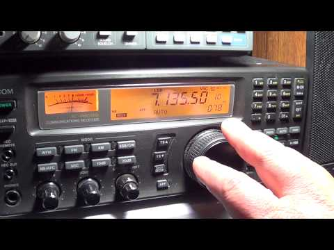 CQ WW SSB WPX contest 40 meters 0200 UT part 1