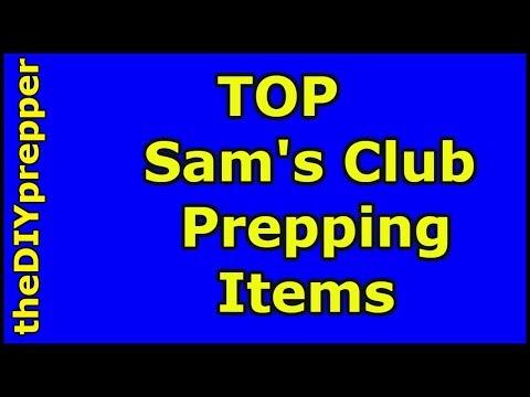 Sam's Club Prepper Items