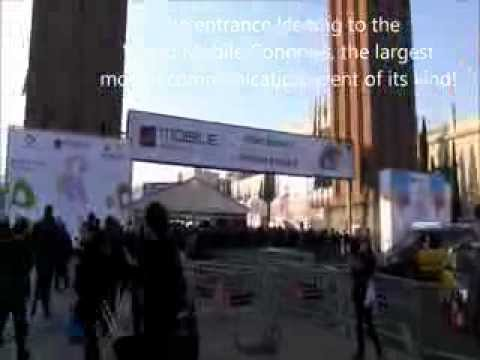 : Exhibition at the Mobile World Congress 2012