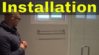 Moen Banbury Double Towel Bar-FULL Installation Video