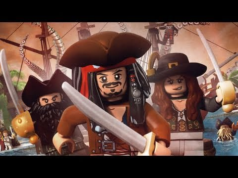 Classic Game Room - Lego Pirates Of The Caribbean For Xbox 360 Review video
