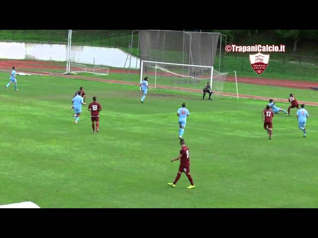 Highlights Trapani-Cjarlins Muzane 4-0, 31.07.14 ©TrapaniCalcio.it