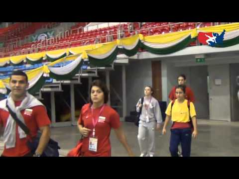 2012 Junior Worlds Venue Tour - Pattaya, Thailand