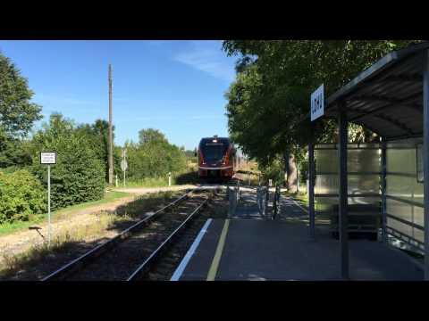 [Elron] commuter train service Tallinn → Türi calling Lohu train halt.