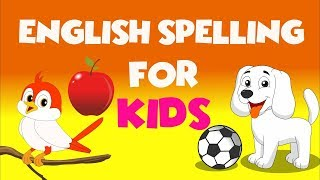 Learn English For children  Spelling of 8 English Words