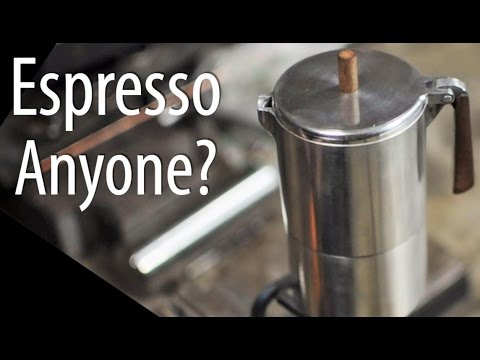 Making An Espresso Pot
