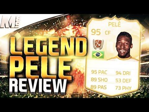 FIFA 15 UT - LEGEND PELE || FIFA 15 Ultimate Team 95 Legend Pele Player Review + In Game Stats