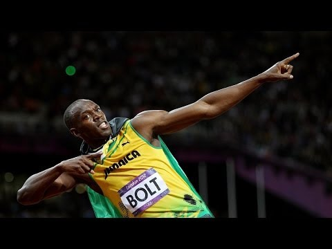 Why does Usain Bolt run so fast?