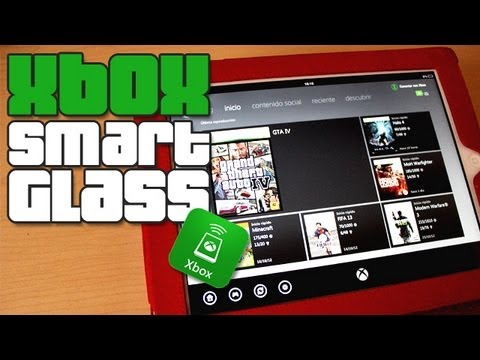 Xbox SmartGlass App para iOS. Android y Windows 8 En Español